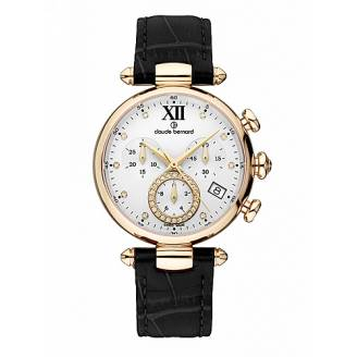 Claude Bernard Dress Code Lady Chronograph 10215 37R APR1