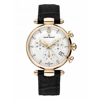 Claude Bernard Dress Code Lady Chronograph 10215 37R APR2
