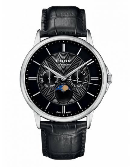 Edox Les Bemonts Moon Phase 40002 3 NIN