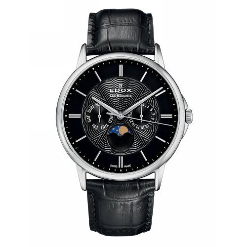 Edox Les Bemonts Moon Phase 40002 3 NIN