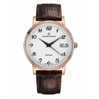 Claude Bernard Classic Date 53009 37R BB