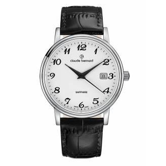 Claude Bernard Classic Date 53009 3 BB