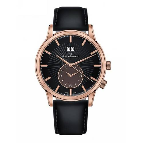 Claude Bernard Classic 2nd Time Zone 62007 37R NIBRR