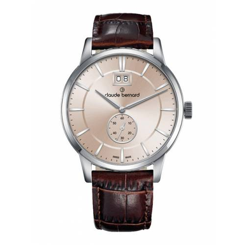 Claude Bernard Classic Big Date Small Second 64005 3 AIN3
