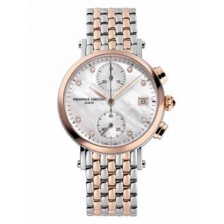 Frederique Constant Classics Quartz Chronograph Ladies FC-291MPWD2R2B