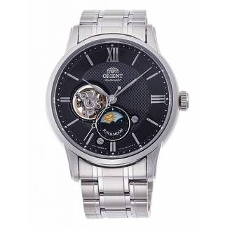 Orient Classic Automatic Open Heart Sun & Moon RA-AS0002B10B