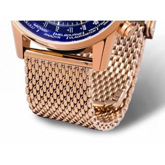 Vostok Europe Metalinė apyrankė 22mm-rose-gold-Br-Mesh